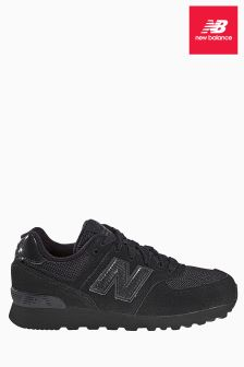 New Balance Black 574 Trainer