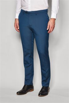 Plain Front Trousers