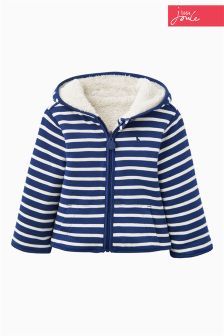 Little Joule Navy Stripe Fleece