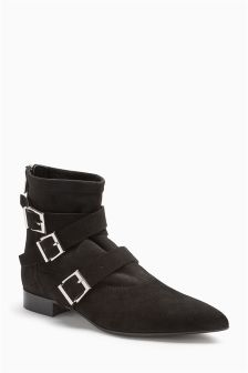 Buckle Point Boots