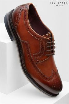 Ted Baker Tan Ttanum Three Wingcap Brogue