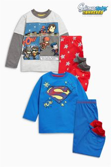 Scribblenauts Pyjamas Two Pack (9mths-8yrs)