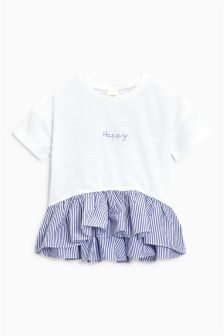 Happy Peplum Top (3mths-6yrs)