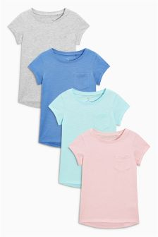 Short Sleeve T-Shirt Four Pack (3-16yrs)