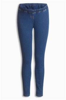 Denim Maternity Leggings