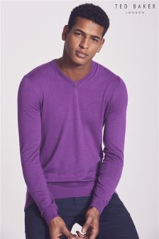 Ted Baker Aleterna V-Neck Knit Jumper