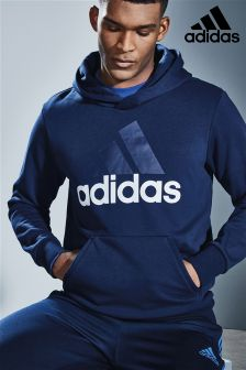 adidas Collegiate Navy Essential Linear Hoody