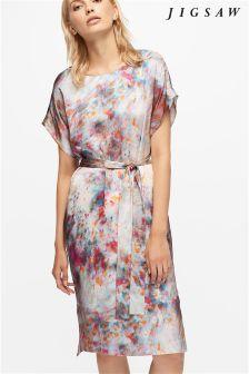 Jigsaw Multi Kimono Dress