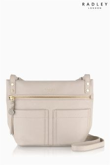 Radley® Natural Kensal Medium Zip Top Across Body Bag