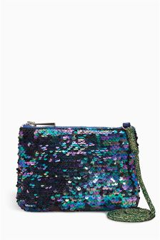 Mermaid Sequin Envelope Bag