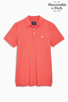 Abercrombie & Fitch Pink Polo