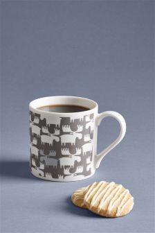 Grey Moose Mug
