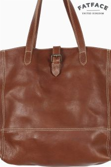 Fat Face Tan Lily Large Buckle Tote Bag