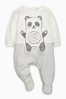 Panda Sleepsuit (0-18mths)