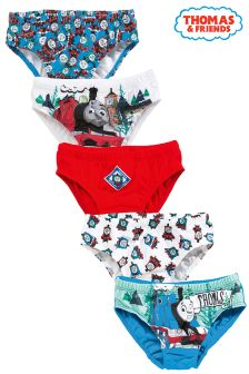 Thomas Briefs Five Pack (1.5-6yrs)