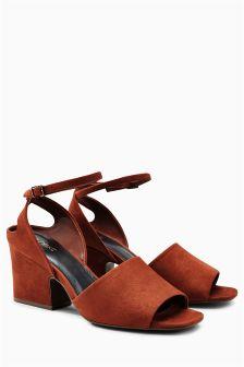 Wide Heel Sandals