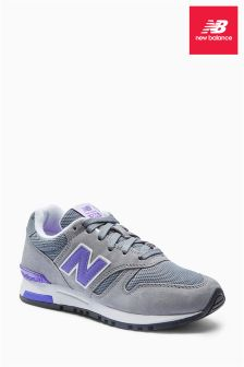 New Balance Grey/Purple 565