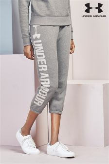 Under Armour Grey Fleece Capri