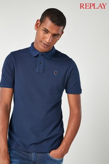 Replay® Pique Polo