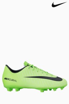 Nike Green Mercurial Vapor XI Firm Ground Football Boot