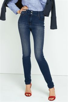 High Waist Enhancer Skinny Jeans