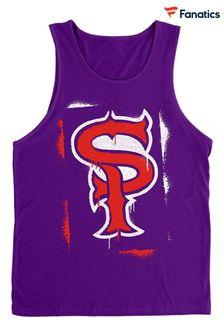 Abercrombie & Fitch Navy Logo Crew Sweat