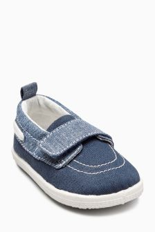 Pram Boat Shoes (Younger Boys)
