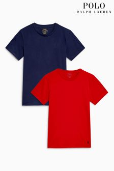 Polo Ralph Lauren Red/Navy Short Sleeve T-Shirts 2 Pack