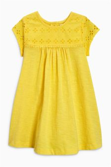 Broderie Dress (3mths-6yrs)