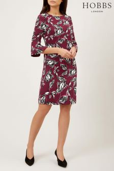 Hobbs Red Layla Dress
