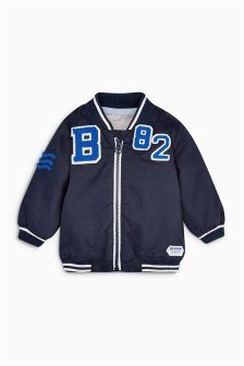 Badged Casual Jacket (0mths-2yrs)