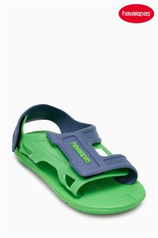 Havaianas® Green/Navy Velcro Sandal