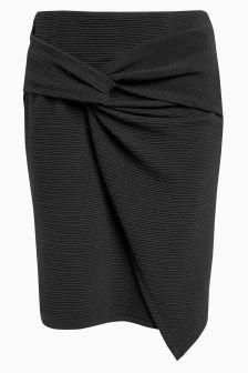Twist Front Skirt