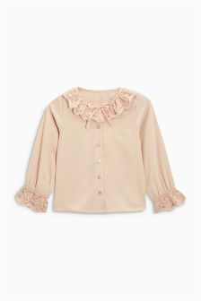 Ruffle Collar Blouse (3mths-6yrs)