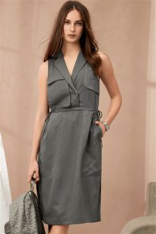 Tencel® Utility Dress