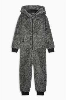 Enhance sofa-lounging sessions with boys' onesies. Select from animal-inspired designs complete with faces and ears, or opt for a playful all-over print.