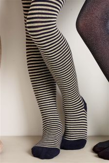Sparkle Stripe Tights (3-16yrs)