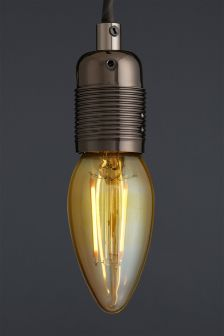 2W SES LED Retro Candle Bulb