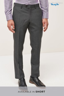 Signature Texture Suit: Trousers