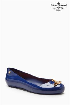 Vivienne Westwood By Melissa Navy Space Pump