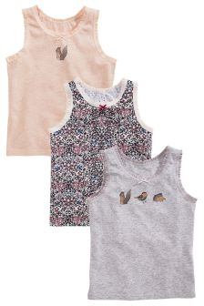 Vests Three Pack (1.5-12yrs)