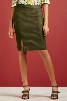 Suedette Skirt