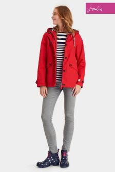 Joules Coast Red Hooded Jacket