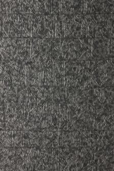 Charcoal Textured Mosaic Wallpaper