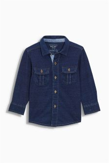 Jersey Long Sleeve Shirt (3mths-6yrs)