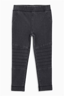 Denim Motor Cross Leggings (3-16yrs)