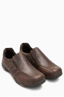 Leather Slip On