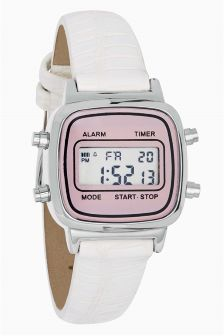 Small Digital Strap Watch