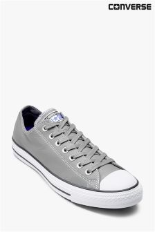Converse Grey Leather Chuck Ox