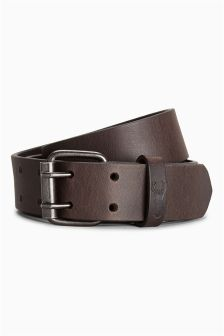 Two Prong Leather Belt